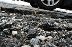 A #ripothole on Libera Street in Cranston needs immediate work.