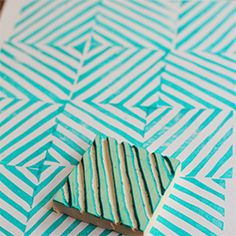 DIY: Make your own rubber stamps.