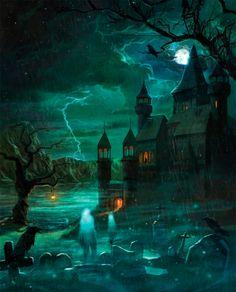 Spooky beautiful!