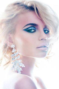 MUA: Raluca Luca  | beautiful editorial makeup #bride #unique #artist #nude lips. #gorgeous