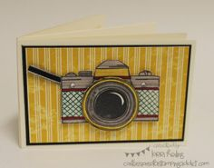 Mini Scrapbook Card :: Confessions of a Stamping Addict Tutorial Included Lorri Heiling