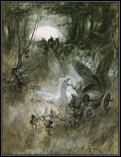 The Court of Faerie - Thomas Maybank - 1906