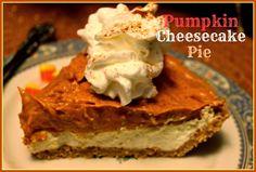 Pumpkin Cheesecake Pie!