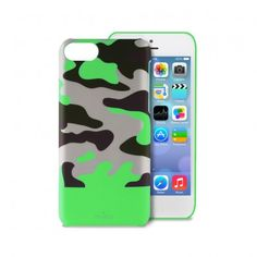 Carcasa iPhone 5C Puro - Camou Verde  AR$ 131,82