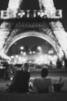 Petite soirée à Paris.