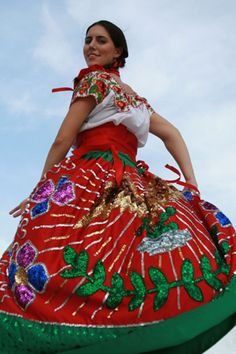 China Poblana. Puebla.