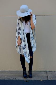 Styling a Kimono for