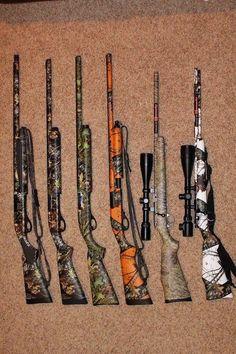 Camo guns