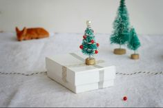 How to make Miniature Christmas Tree Ornaments