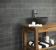 Classic Vulcan Honed Basalt Stellar Basin from Mandarin Stone. A small yet perfectly formed basin that represents excellent value. A comtemporary Basalt that is grey and fairly uniform in shade. #bathroom #stone #basin http://www.mandarinstone.com/products/bathware/classic_vulcan_honed_basalt_stellar_basin#