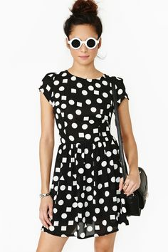 Dancing Shapes Dress $58.00 #NastyGal