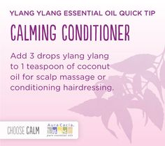 Feeling stressed?  add ylang ylang essential oil to your condition to help you feel more calm.  www.onedoterracommunity.com   https://www.facebook.com/#!/OneDoterraCommunity