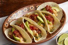 Shrimp & Cheese Tacos