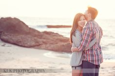 Soon to be Mr. and Mrs. ~ Ina & Dave, Montage Resort  - Laguna Beach Engagement Shoot by KLK Photography www.klkphotography.com laguna beach, beach engagement, montag resort