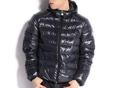 Buy Black Moncler Baptiste Down Jacket for Men