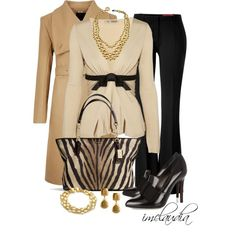 Zebra Bag, created by imclaudia-1 on Polyvore