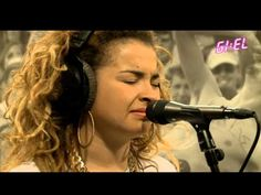 This girl has everything to become a big star!!!  Rudimental ft. Ella Eyre LIVE: Feel The Love