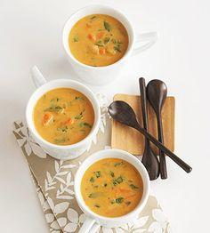 Coconut Pumkin Soup sounds so good!