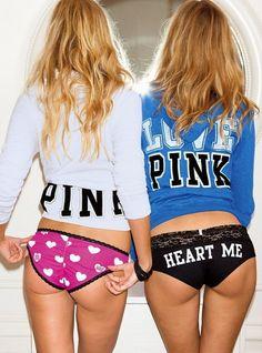 Victoria's Secret PINK, pink on bottom of sweatshirt