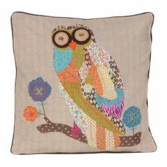 Appliqued Owl Pillow | Kirkland's