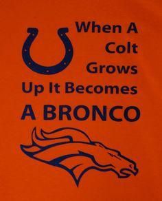 Denver Broncos shirt