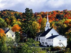 Drive around Vermont in the Fall