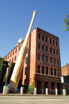 Louisville Slugger Museum in Louisville, Kentucky