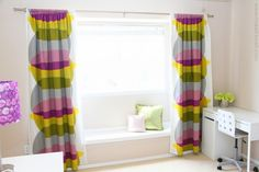 Make your curtains BLACKOUT CURTAINS (simplified version)