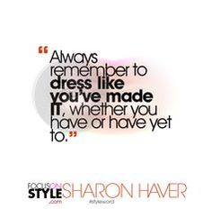 The Daily #StyleWORD   #quotes #dailyquote #styletips #styleword #quote #stylemotivation #focusonstyle