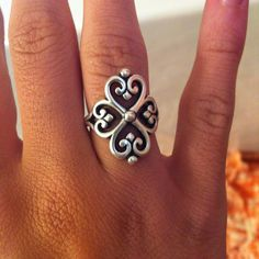 James Avery ring - Love the 4 hearts! That can be for my 4 kids! My 4 grand-babies!!