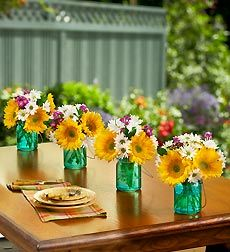 LOVE sunflowers and daisies!