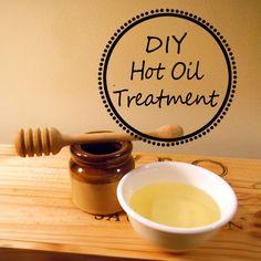 DIY Hot Oil Treatment