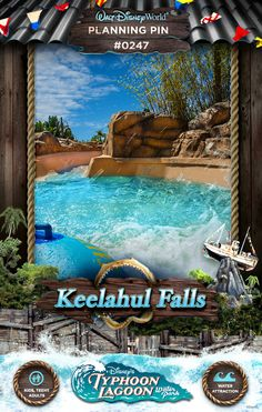 Walt Disney World Planning Pins: Keelahul Falls