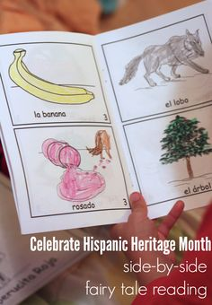 Celebrate #HispanicHeritageMonth with Spanish-English fairy tales. Our #RaiseaReader blog has book suggestions and more.