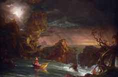 Adulthood- Thomas Cole's Voyage of life