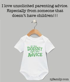 I love unconditional parenting advice. Especially from someone that doesn't have children!!! Said no mom EVER!