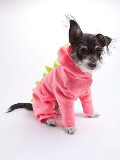 Neon Pink Dragon Dogzilla