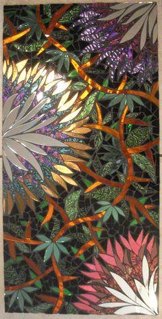 glass mosaic.