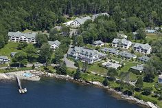 Spruce Point Inn Resort & Spa  Boothbay Harbor, Maine.