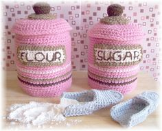 Ravelry: Canister Set pattern by Sally Byrne