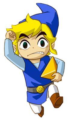 Blue Link - Legend of Zelda #nintendo