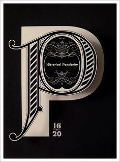 Tom Davies typographic poster