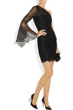 EMILIO PUCCI Lace mini dress
