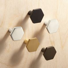 Shop Hex Mini Knobs.