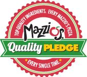 Gluten Free pizza at select Mazzio's locations in the Tulsa area. Call your local restaurant to make sure they offer gluten free.