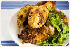 Crispy Buttermilk Oven Fried Chicken