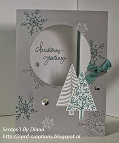 Endless Wishes, Festival of Trees by Diana #Stampin'Up!