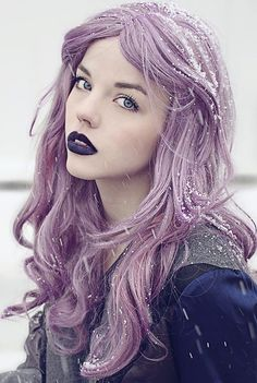 Lilac pastel #hair #bright #dyed #pastel