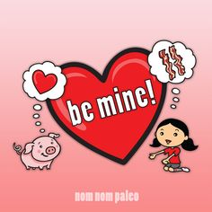Happy Valentine's Day! I have some free printable Pig Love cards for you!