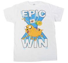 Adventure time epic win!  #men #win #adventure #adventuretime #shirt #shirts #t-shirt #t-shirts #funny #tv #shows